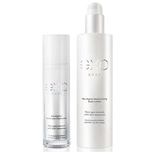 The eXO Duet - Natural Face and Body Anti-Aging and Firming Moisturizer by Exo Skin Simple