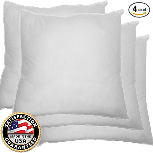 Best Throw Pillow Inserts : Which is the best throw pillow insert 24x24 on Amazon? : Product : BOOMSbeat