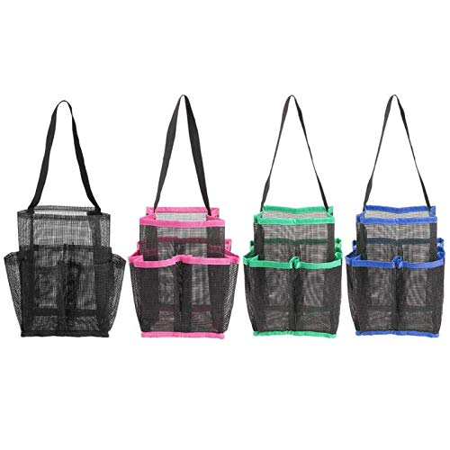OPL Mart Shower Caddy Tote Quick Dry Storage Mesh Hanging Ba