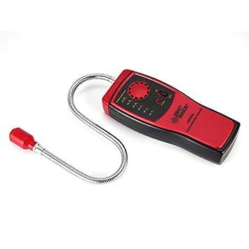 Nowakk Detector de Gas Combustible Metano analizador de Fugas de Gas Natural Probador portátil de Alarma: Amazon.es: Hogar