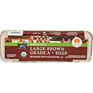365 Everyday Value, Organic Large Brown Grade A Eggs, 12 ct