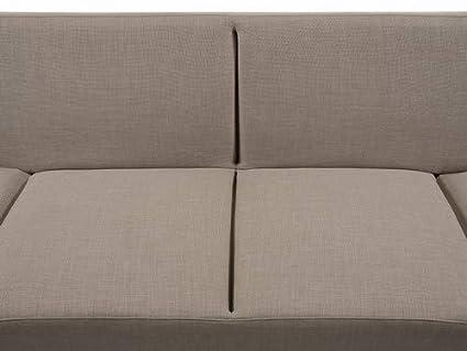 Beliani Sofá Cama Beis - canapé - sofá tapizado - York ...