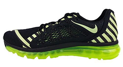 check out 218da 92555 Galleon - Nike Mens Air Max 2015 Anniversary Running Shoes, Black Liquid  Lime Dark Grey (8.5)