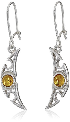 sterling-silver-honey-amber-small-crescent-shape-earrings