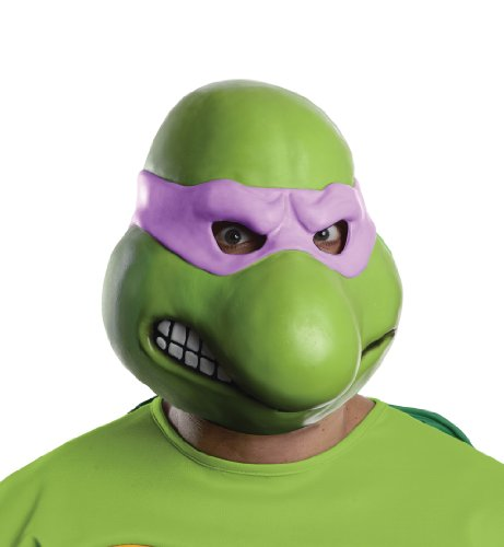 Nickelodeon Teenage Mutant Ninja Turtles Adult Donatello 3/4 Mask, Green, One Size
