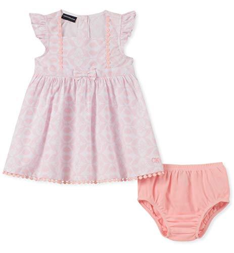 Cool Dress Up Ideas For Halloween (Calvin Klein Baby Girls 2 Pieces Dress Set, Pink,)
