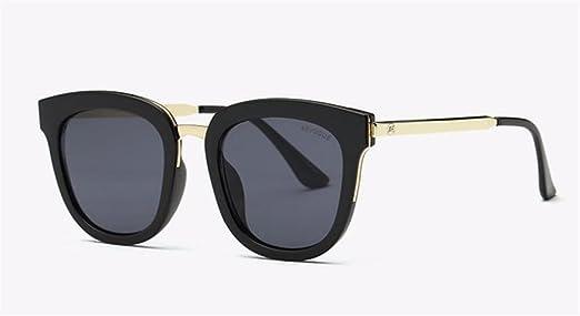 WANGMIN® Sonnenbrille-Frauen-Neueste Luxuxmarken-Entwerfer-Legierungs-Tempel-Flache Objektiv-Sonne-Gläser Weinlese Mit Kasten Uv400 , C