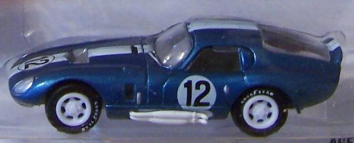 Shelby Daytona Coupe (Johnny Lightning Classic Gold Collection Shelby Cobra Daytona Coupe Blue)