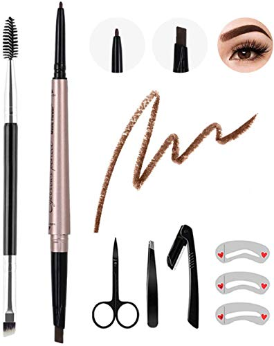 8Pcs Eyebrow Pencil Dark