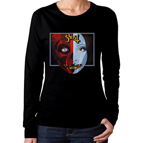 Women's Ghost Cirice Long Sleeve Tee Shirt Fitted ()