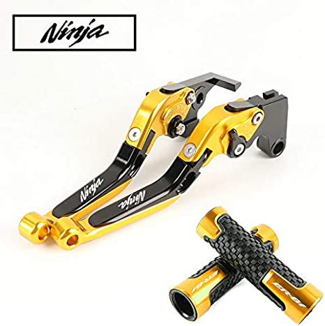 Amazon.com: Folding Brake Clutch Levers & Handle Grips for ...