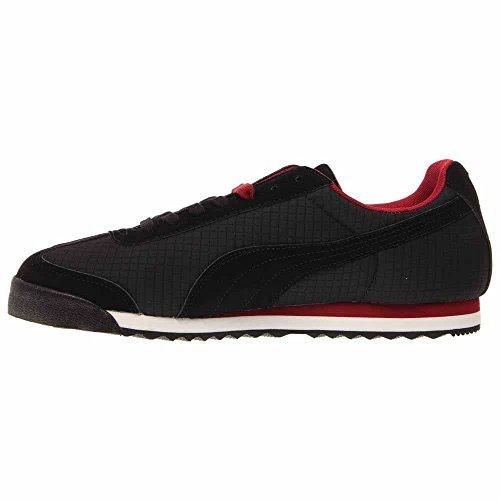 Sneaker Puma Mens Roma Basic Nero / Rosso Rio