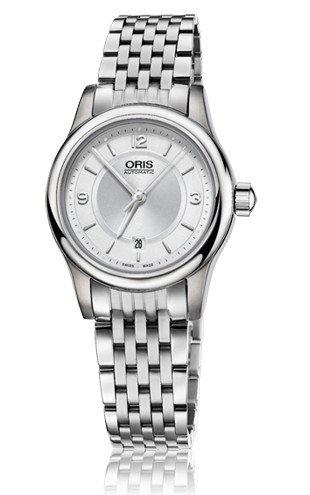 Oris Classic Date Silver Dial Stainless Steel Ladies Watch 01 561 7650 4031-07 8 14 61