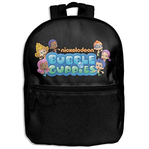 Casual Child Backpack School Bag Travel Daypack Bubble Guppies Logo