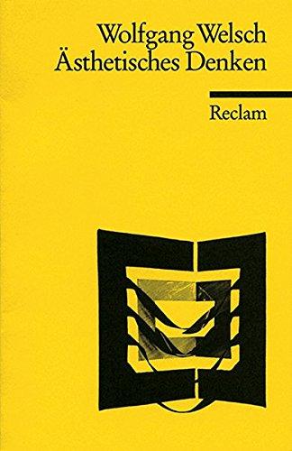 Ästhetisches Denken (Reclams Universal-Bibliothek)