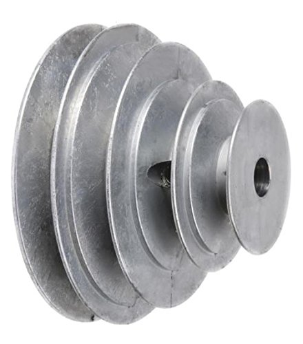 Chicago Die Casting 1416 V-groove 4-step Pulley, 5/8""