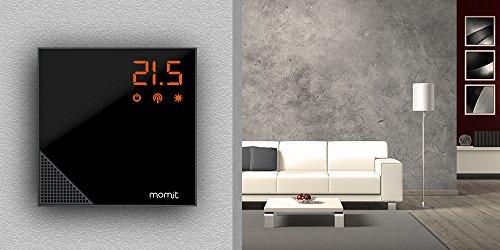 Momit BMHTPV2EU Termostato Inteligente para Calefacción, Negro: Amazon.es: Bricolaje y herramientas