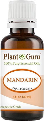 Mandarin Essential Oil 30 ml. 100% Pure Undiluted Therapeutic Grade. by Plant Guru
