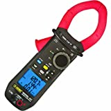 AEMC 407 True RMS Power Clamp-Meter with Recording Capability, 1,000A AC, 1,500A DC, Conductors to 48mm, Voltage, Frequency, Resistance, and Power Measurement