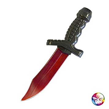 Aec ac2229 - Cuchillo sangriento 25 cm PVC: Amazon.es ...