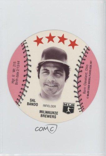 Sal Bando (Baseball Card) 1977 MSA Discs -