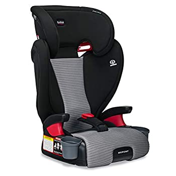 Image of Britax Midpoint Belt-Positioning Booster Seat - 2 Layer Impact Protection - 40 to 120 pounds - DualComfort Moisture Wicking Fabric, Gray