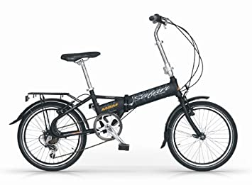 MBM SAFARI 20 BICYCLE FOLDING BIKE BLACK 6S BICICLETA PLEGABLE ALLOY