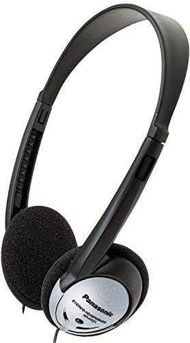 - Panasonic RP-HT21 Lightweight On-Ear Headphones with XBS (100 Pack)