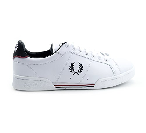 Fred Perry - B722 Leather - White (Wei