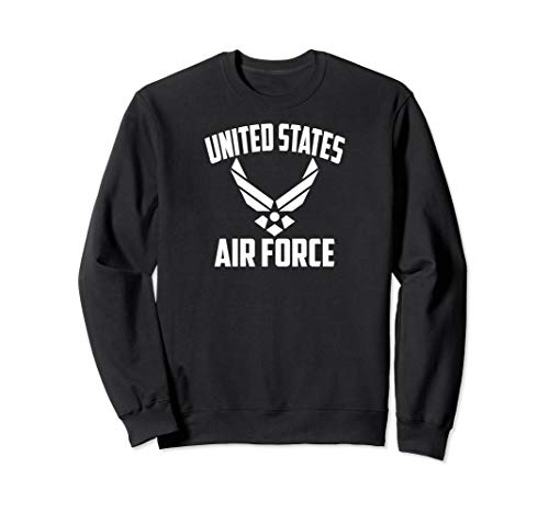 Armed Forces Gear Men's Air Force Vintage Basic Sweatshirt