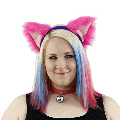 Pawstar Cheshire Cat Furry Ear Headband Costume - Classic