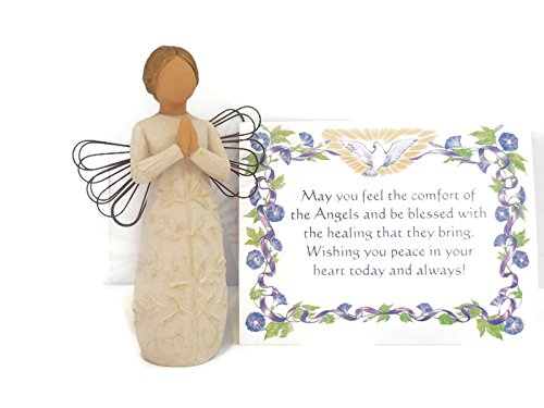 Willow Tree A Tree, A Prayer Figurine An Ideal Remembrance Sympathy-Condolence Gifts For Loss Of Mother/Father/Loved One