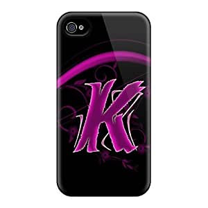 Protective Tpu Case With Fashion Design For Iphone 4/4s (pink K)