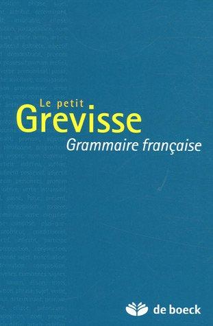 Read Le petit Grevisse Grammaire francaise [K.I.N.D.L.E]