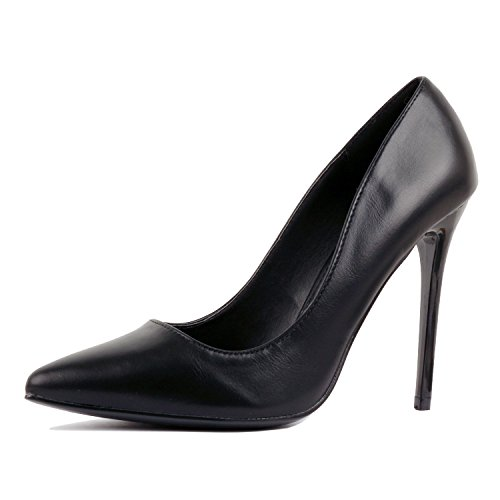Guilty Heart | Womens Classic Pointy Toe Sexy High Heel | Formal Dress Party Office Slip On Pump
