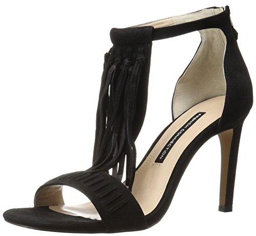 French Connection Womens Lilyana Dress Sandal Black