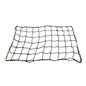 Tooluxe 50969L Premium 36-Inch x 60-Inch Cargo Net with 16 Adjustable Hooks | Stretches to 60-Inch x 90-Inch