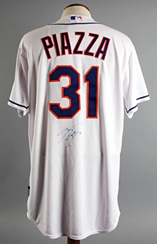 Mike Piazza Signed New York Mets Jersey - COA JSA ()