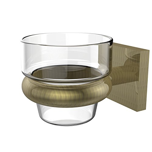 Allied Brass MT-64-ABR Montero Collection Wall Mounted Votive Candle Holder, Antique Brass
