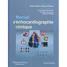 Manuel d'Echocardiographie Clinique (+dvd)