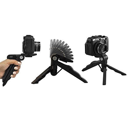 4188LNeyGvL - Canon VIXIA HF R800 Camcorder (Black) + SanDisk 64GB Memory Card + Digital Camera/Video Case + Extra Battery BP-727 + Quality Tripod + Card Reader + Tabletop Tripod/Handgrip + Deluxe Accessory Bundle
