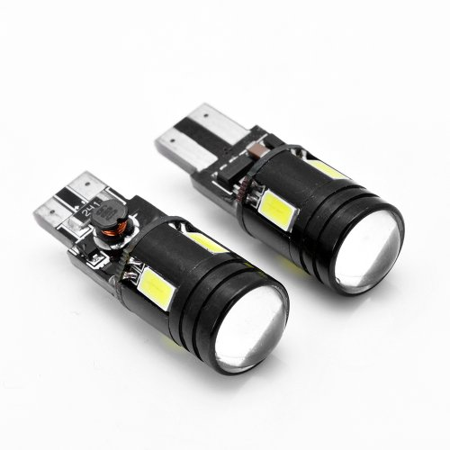 2x High Power Xenon White 6000K Canbus Error Free T10 T15 2825 168 W5W CREE 5730 SMD LED Parking Backup Reverse Light Bulb For Cadillac Chevrolet Ford Dodge GMC