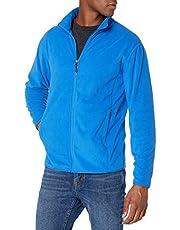 Amazon Essentials Mens Full-Zip Polar Fleece Jacket
