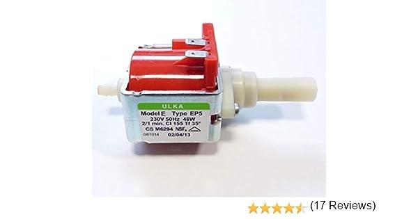 DeLonghi – Bomba Ulka Modelo E Tipo EP5 48 W 230 V – 5132106900: Amazon.es: Hogar
