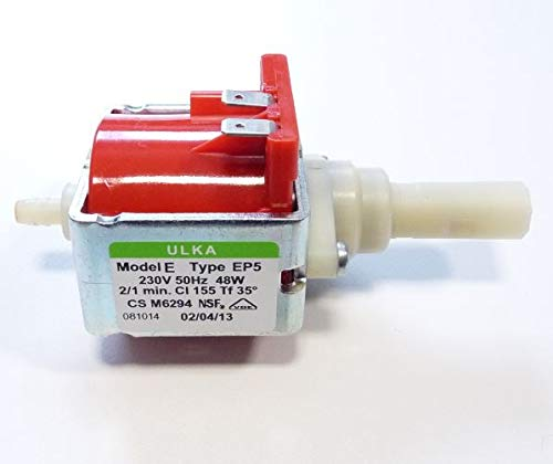 DELONGHI PUMP ULKA MODEL TYPE E 230 V-5132106900 EP5 48W