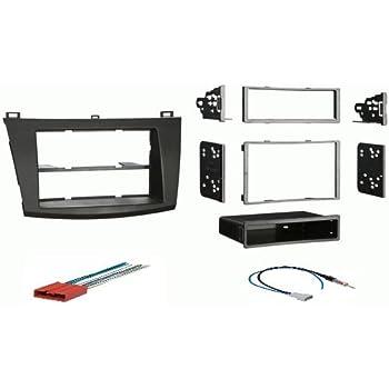 Amazon.com: 2010 2011 2012 Mazda 3 Radio Install Dash Kit ...