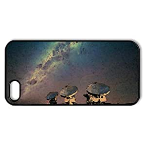 Satellite Array Night Watercolor style Cover iPhone 5 and 5S Case