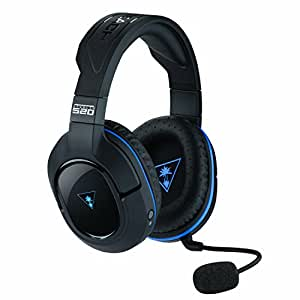 Auriculares gaming inalámbricos con sonido envolvente Stealth 520 de Turtle Beach - PS4, PS4 Pro y PS3