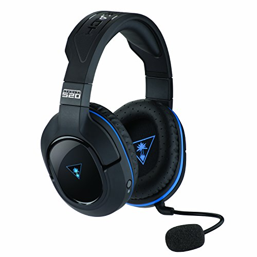 Turtle Beach Stealth 520 Wireless DTS 7.1 Surround Sound Gaming Headset for PlayStation4 and PlayStation3