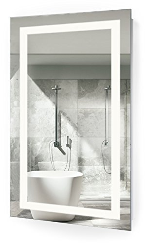 Low cost large 72 inch x 30 inch led bathroom mirror - Large horizontal bathroom mirrors ...